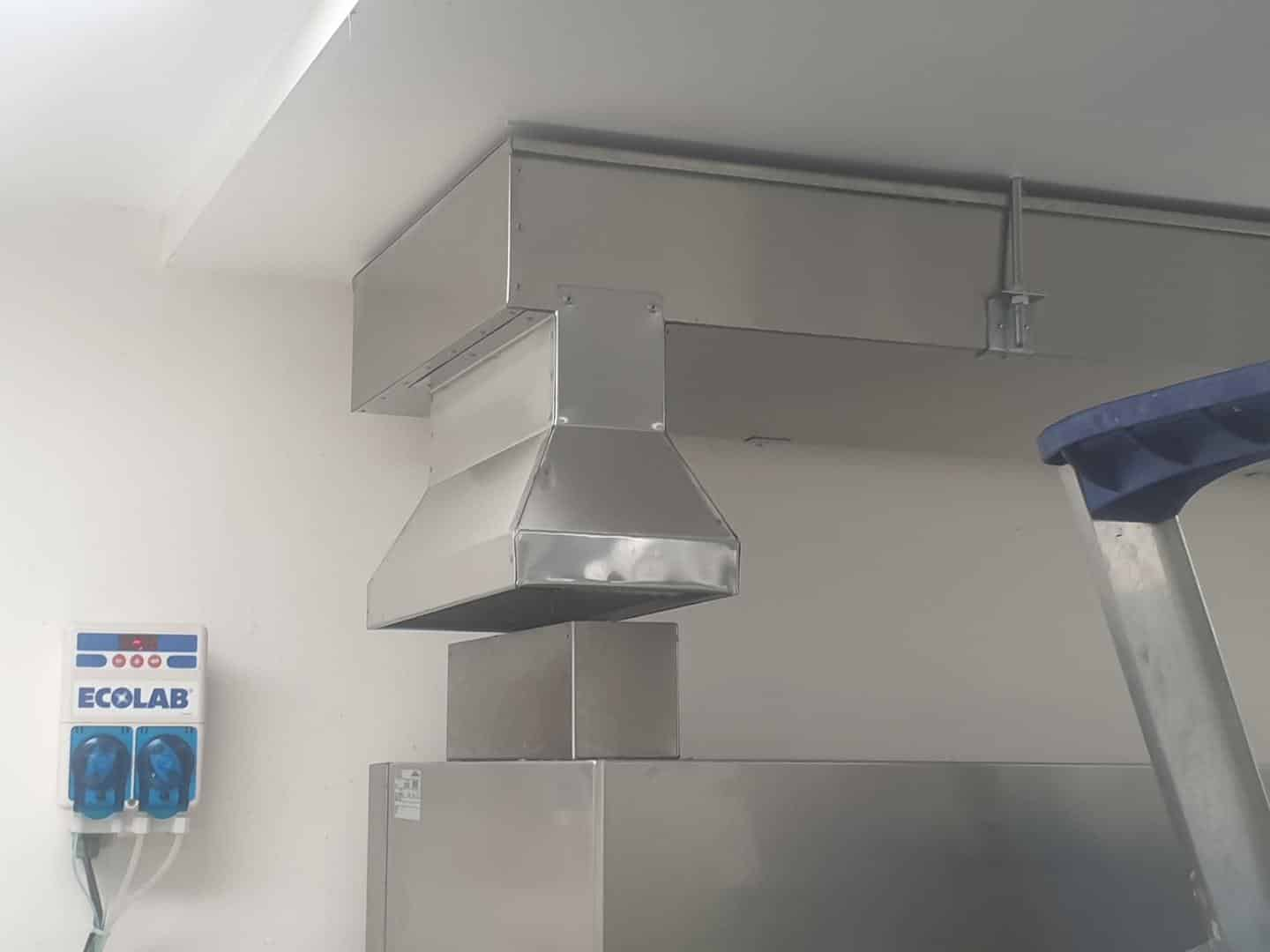 Woodside Kitchen Exhaust Upgrade Apex Technical Services