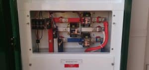 electrical mains section